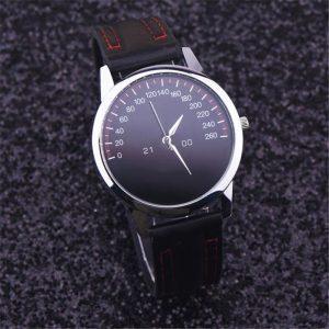 Juodos spalvos, kokybiškas laikrodis