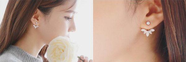 """Auskarai """"Gėlės žiedas"""""""