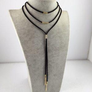 Gotikinio stiliaus įmantrus kaklo papuošalas