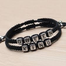 """Medžiaginės apyrankės ,,King ir Queen"""""""