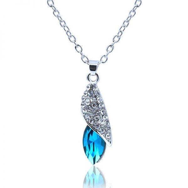 Kaklo papuošalas su austrišku kristalu