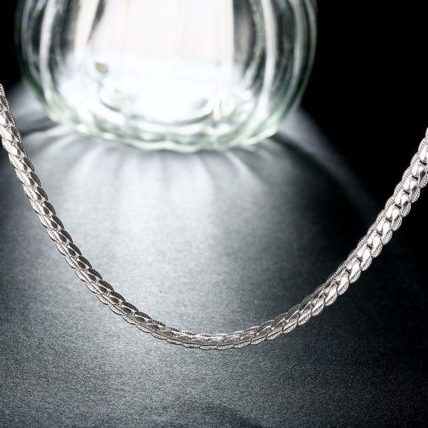 Masyvi, sidabrinė grandinėlė
