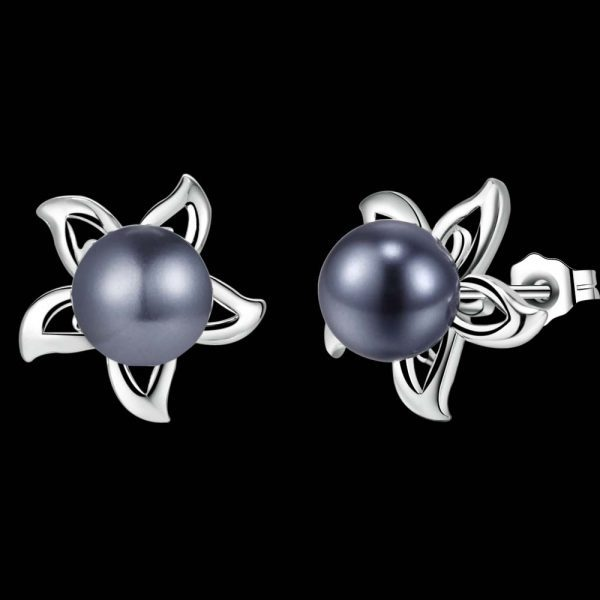 """Žavūs sidabriniai auskarai ,,Gėlytės"""""""