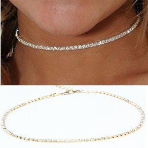 Minimalistinio dizaino moteriškas kaklo papuošalas