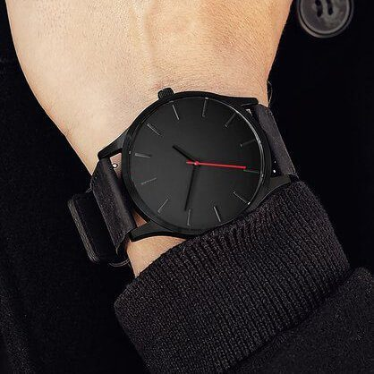 Prabangios išvaizdos, vyriškas laikrodis