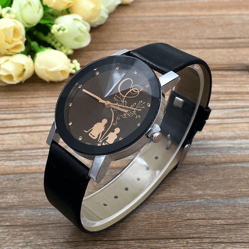 Puošnių laikrodžių rinkinys su romantikos elementu