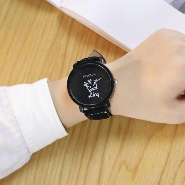 Madingų laikrodžių komplektas jam ir jai