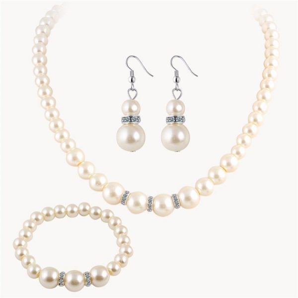 """Papuošalų rinkinys ,,Tviskantis perlas"""""""