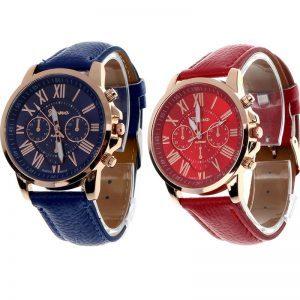 Unisex, įvairių spalvų laikrodis