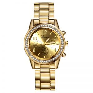 """Nerūdijančio plieno laikrodis ,,Geneva"""""""