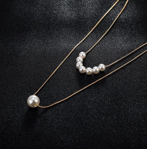 """Kaklo papuošalas ,,Pearls"""""""